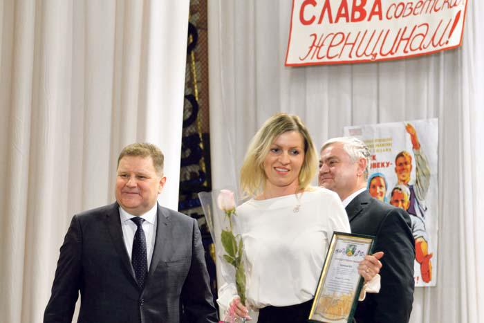 Награда от руководителей района