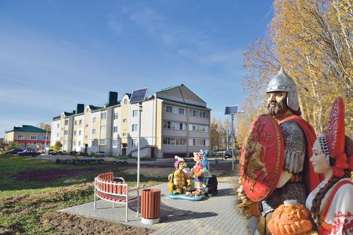 Многофункциональный комплекс «Лесная сказка» в микрорайоне Лесном деревни Берёзовки
