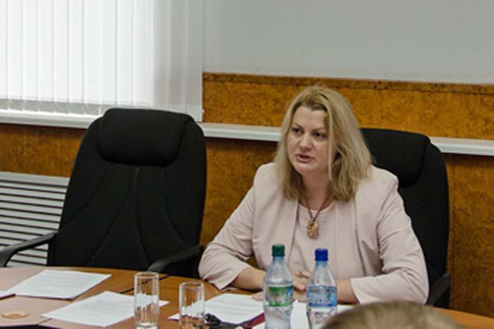 Т.Ю. Парусова - мэр города Арзамаса