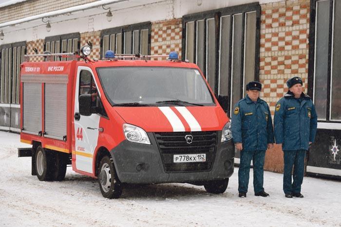 Новый пожарный автомобиль на базе ГАЗели NEXT
