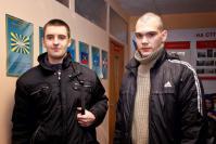 А. Гагин и В. Смирнов отправились служить в Кремлевские войска