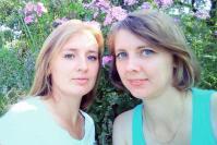 Сестры Марина Сидорова и Ирина Игнатёнкова