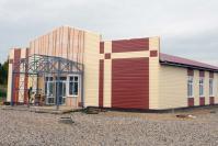 Так на сегодня выглядит строящийся Дом культуры в Бебяеве