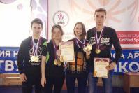В. Оленёв, А. Куликова, А. Овчаренко и М. Панов
