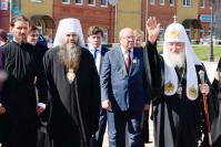 Предстоятель Русской православной церкви Кирилл в Арзамасе