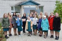 Оксана Скопцова с ученицами Арзамасской православной гимназии