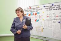 Защищает проект руководитель комплексного центра социального обслуживания населения Арзамасского района И.А. Полякова