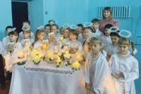 Танец ангелочков исполняли на празднике учащиеся 1а класса (классный руководитель Л.В. Курганова)