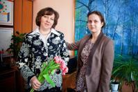 Е.Н. Рогожина и Ю.С. Садовникова (мама и дочь) – педагоги Ломовской школы